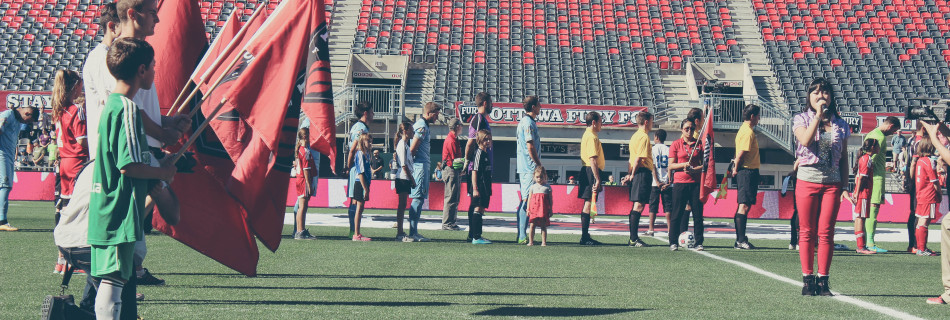Kids Club Day at the Ottawa Fury FC Game!