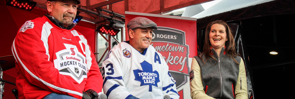Rogers Hometown Hockey Tour: Day Two!