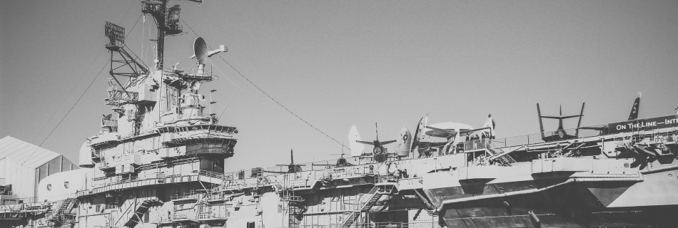 Aboard the Intrepid (Sea, Air & Space Museum in NYC)