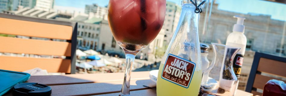 Jack Astor's Rooftop Patio in Kingston, Ontario