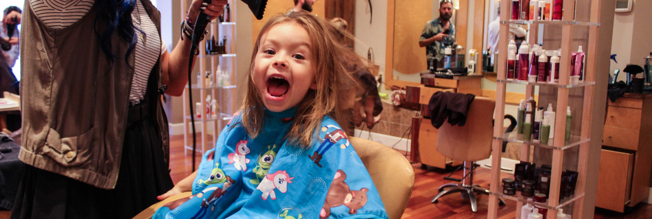 Willow's First Hair Cut